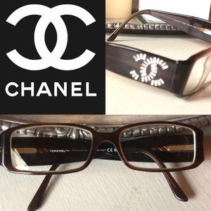 AUTHENTIC CHANEL READERS AMBER